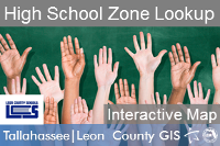 School Zone Lookup Application - High School Thumbnail